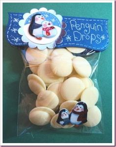 Penguin Drops Sweetie Candy bags Crafts