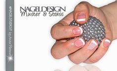 UV Permanent Nagellack Shellac Nageldesign Nailart French Muster