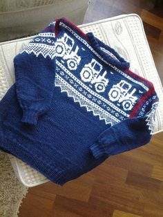 """""""mariusdress til baby"""" Baby Knitting Patterns, Baby Patterns, Stitch 2, Baby Sweaters, Kids And Parenting, Little Boys, Crochet Projects, Hand Embroidery, Needlework"""