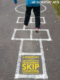 6 Strategies for Teaching Skip Counting - Have fun when teaching math! Click on the photo to check out these engaging skip counting activities and games. Great  review  for 1st and 2nd grade.