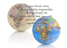 Viaggiare in solitaria è un viaggio nel viaggio...  Silvia's Trips