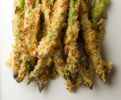 Honey Breadcrumb Asparagus - I really wish I wasn't the only one in our household who loves asparagus - this sounds delish!
