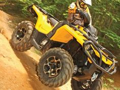 Best Open Class Utility ATV of 2012  The Can-Am Outlander 800R,   Written By ATV Illustrated Magazine  It's almost a little hard to believe an 800cc machine would not be the most powerful ATV in the lineup, but with Can-Am anything is possible...read more