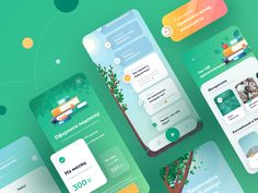 IOS App Design for learning english – Make Mobile Applications Ios App Design, User Interface Design, Flat Design, Design Design, Interface App, Menu Design, Graphic Design, Design Thinking, Motion Design