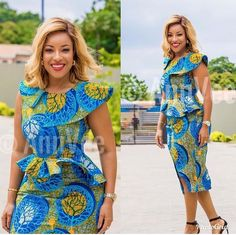 African fashion is available in a wide range of style and design. Whether it is men African fashion or women African fashion, you will notice. African Fashion Designers, Latest African Fashion Dresses, African Dresses For Women, African Print Dresses, African Print Fashion, Africa Fashion, African Attire, African Wear, African Style