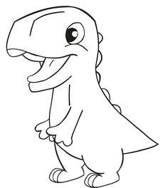 Easy Dinosaur Drawings Easy Dinosaur Drawing Drawn Dinosaur Simple Pencil And In. Dinosaur Coloring Pages, Cute Coloring Pages, Animal Coloring Pages, Coloring Pages For Kids, Coloring Books, Dinosaur Crafts, Cute Dinosaur, Dinosaur Birthday, Easy Dinosaur Drawing