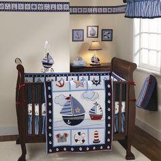 Boy nursery -- sailboats
