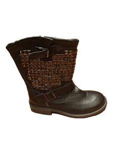 Botas Negras Moteras de Exe Boots