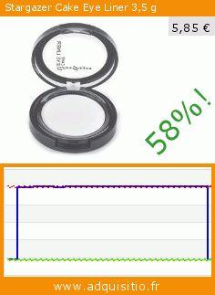 Stargazer Cake Eye Liner 3,5g (Beauté et hygiène). Réduction de 58%! Prix actuel 5,85 €, l'ancien prix était de 14,02 €. https://www.adquisitio.fr/stargazer/cake-eye-liner-35%C2%A0g-4
