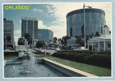 Downtown Orlando, Orlando Florida, Old Florida, Vintage Florida, Florida Images, Riva Boat, Back In The Day, Vintage Images, Old And New