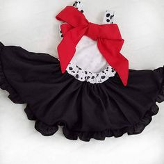 This beautiful dress comes in sizes 12M-6Y ! * Inspired by a favorite classic movie its perfect for theme parks! * Each dress is made to order. It is perfect for birthdays, parties, playing in dress, and made for any occasion. * Before ordering make sure you measure your little