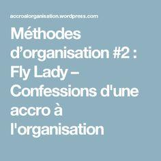 Méthodes d'organisation #2 : Fly Lady – Confessions d'une accro à l'organisation