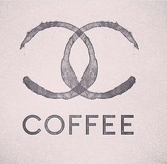 Creative Chanel, Coffee, Fashion, Author, and Unknown image ideas & inspiration on Designspiration Coffee Talk, I Love Coffee, Coffee Break, My Coffee, Coffee Shop, Coffee Cups, Coffee Signs, Coffee Lovers, Drink Coffee