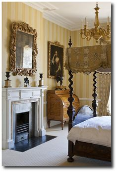 Antique Bedroom Furniture / Beds ~ The Life of the House by Henrietta Spencer-Churchill (Rizzoli).