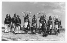 Hopi Pueblo Dancers performing the Butterfly Dance