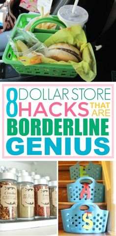 8 Dollar Store Hacks That Are Borderline Genius is part of diy home decor Wood Platform Beds - DIY projects and household items can get expensive But thankfully these dollar store hacks will help give your rooms a nice facelift on the cheap Diy Hanging Shelves, Diy Wall Shelves, Dollar Store Hacks, Dollar Stores, Mason Jar Crafts, Mason Jar Diy, Diy Home Decor Projects, Diy Room Decor, Decor Ideas