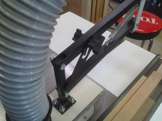 Shop built table saw overarm dust collection hood... - Woodworking Talk - Woodworkers Forum