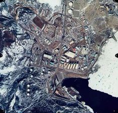 antarctica hidden city