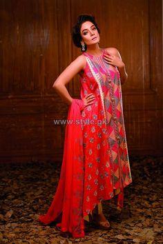 Hadiqa Kiani Spring Summer Dresses 2014 For Women