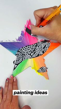 Diy Crafts For Home Decor, Fun Diy Crafts, New Crafts, Diy Craft Projects, Creative Crafts, Fall Crafts, Arts And Crafts, Craft Instructions For Kids, Diy For Kids
