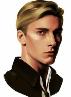 """I guess it is time for me to post eruri drawings. Here's some boring portraits for starter EDIT: because im tired of seeing """"asian levi"""" in the tags i made some corrections here i hope he looks more. Kenny Ackerman, Levi Ackerman, Attack On Titan, Aot Characters, Tales Of Vesperia, Levi And Erwin, Chinese Cartoon, Eruri, A Beast"""
