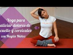 Posturas de yoga para aliviar los dolores de cuello y cervicales - YouTube