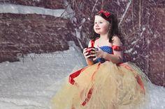 Princess themed tutu dress, Snow White, Cinderella, Belle, Tinker Bell, Ariel, or Alice in wonderland.