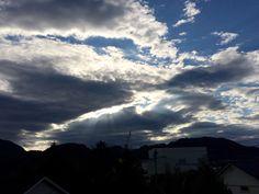 Облака в Норвегии ⛅️