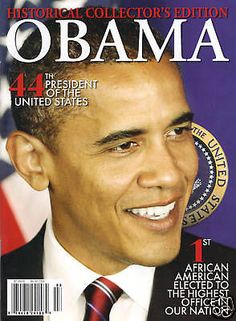 ★barack Obama Historical Collector's Edition Magazine | eBay