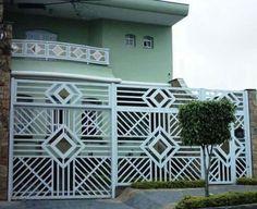portão alumínio sobrado