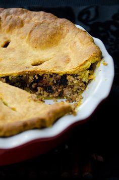 Medieval Food: Pork pie