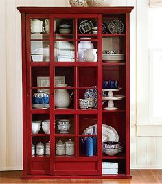 Delicieux TW Ship Will Not Fit In Or On :/  Garrett Glass Cabinet | Pottery Barn |  Hutch, Curio, Shelving, ... | Pinterest | Pottery, Barn And Glass