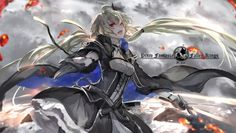 Come here to me! - blonde hair, anime, magic, dress, pixiv fantasia, war, awesome, blood, female, fight, fallen kings, vampre, sky, knight, game, long hair, nice, sword, demon, cool, beauty, beautiful, fantasy, gloves, twintail, clouds, vampire, pretty, weapon, smile, red eyes, anime girl