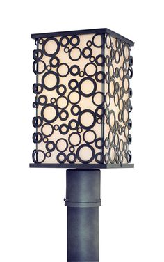 Aqua Exterior Post Lantern by Troy Lighting