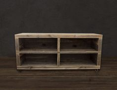 Alamo Reclaimed Wood Bookshelf  I love reclaimed wood projects