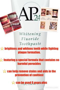 The best whitening toothpaste out there! To learn more & order directly visit fb laura Bukenhofer or renewed youth by laura on fb or msg me here Best Whitening Toothpaste, Whitening Fluoride Toothpaste, Skin Products, Beauty Products, Avon Ideas, Galvanic Spa, Nu Skin, Beauty Bar, 6 Years