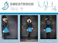 """Nähanleitungen Mode - Ebook Sweatrock """"MyHedy"""" - Gr. 32-48 - ein Designerstück von petitetjolie bei DaWanda"""