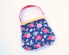 Quilted toddler purse. Little girl purse. by PotatoBlossomStudio