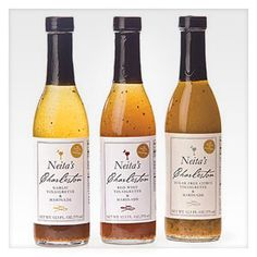 NEITA'S CHARLESTON VINAIGRETTES- a locally made dressing for poultry, seafood, salads and more.
