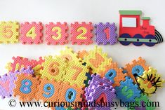 Alphabet Number Train