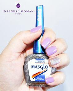 Manicura lila con Masglo #IntegralWomanbyGladys Woman Inspiration, Nail Art, Drink, Beauty, Food, Finger Nails, Feet Nails, Beauty Tips, Nail Designs
