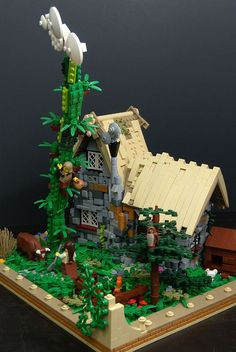 Jack and the Beanstalk (Lego MOC)