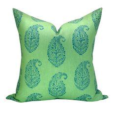 Peter Dunham Textiles Kashmir Paisley pillow cover от sparkmodern