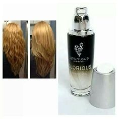 Glorious can be used on your face or in your hair. www.youniqueproducts.com/LyndsayAtkins