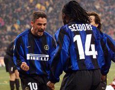 Roberto Baggio & Clarence Seedorf - Inter Milan