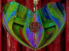 Gated Heart Photograph by Michele Avanti available in prints, on canvas, greeting cards and pillows