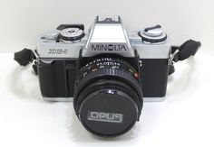 Minolta XG-1 35mm SLR Film Camera With MD 50mm 1:2 Minolta Lens #Minolta Slr Film Camera, Camera Lens, Vintage Cameras, Vintage Movies, Binoculars, Store, Photography, Ebay, Photograph