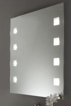 Stunning Spiegel mit LED Beleuchtung x cm beleuchtet Badspiegel Wandspiegel M