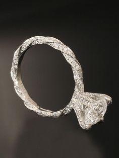 Vintage diamond ring. ~ 35 Pieces Of Gorgeous Jewelery - Style Estate -