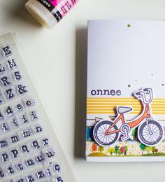 P*SKARTELUHAASTE // Santun Maja -blog #card #cardmaking #cardinspiration #crafting